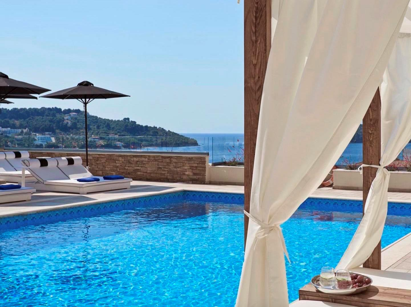 One of our top picks in Skiathos Town.with in  500 m of Skiathos' Port
