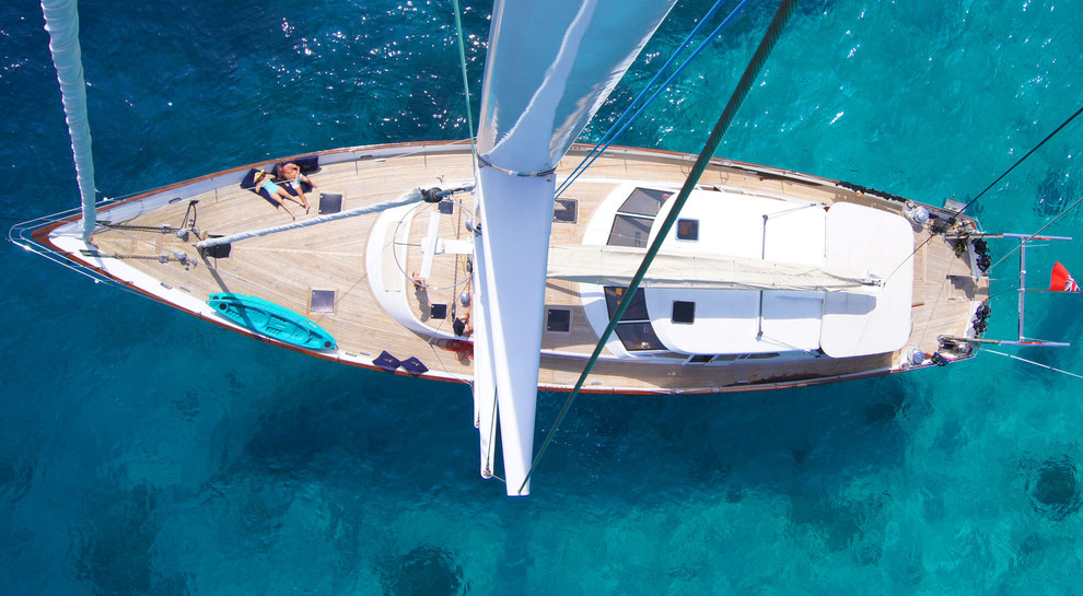 Medsail Holidays AB has introduced a number of innovations in Yachting